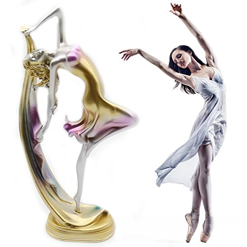 H&W 13''H Graceful Dance Movements Figurine