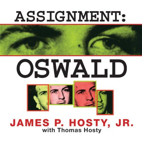 Assignment: Oswald audiobook cover art