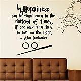 Sticker La Magia De Harry Potter, La Felicidad, Se Puede Encontrar, Incluso...