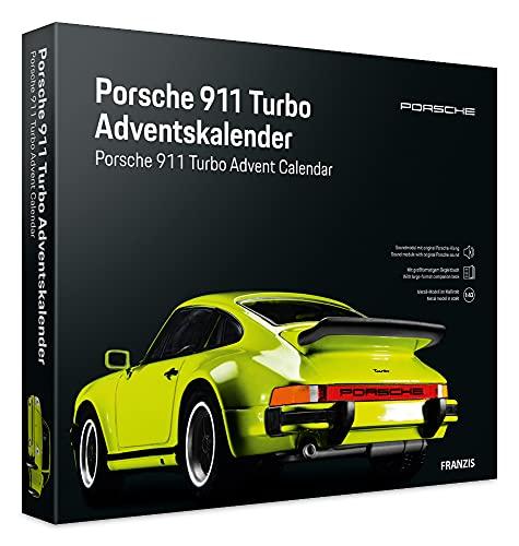 Franzis 55109-2 Adventskalender Porsche 911 Turbo hellgrün