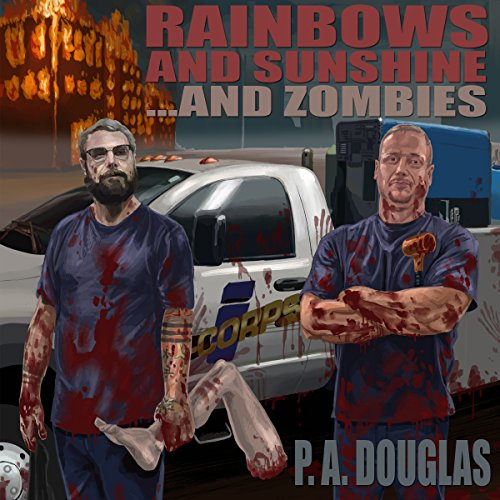 Rainbows and Sunshine... and Zombies audiobook cover art