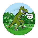Petit Jour Paris - Plato de postre Dinosaurios Tiranosaurio - perfecto para el postre!