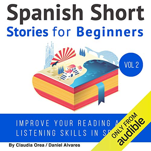 Spanish: Short Stories for Beginners cover art