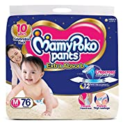 It has crisscross absorbent sheet which absorbs 7 glasses of urine and spreads it evenly Diaper does not get heavy because urine does not get collected at one place because of its crisscross absorbent sheet It has stretchable thigh support which prev...