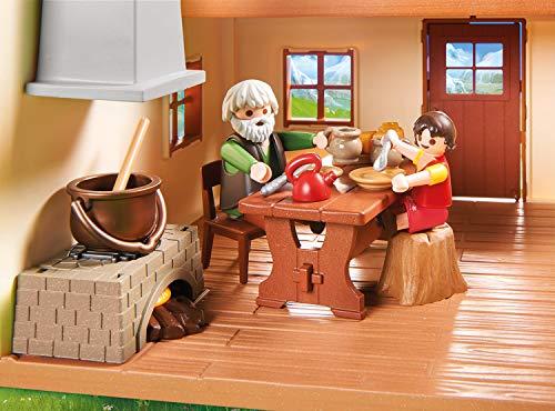 Playmobil- Heidi Juguete, Multicolor (70253)