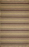 Momeni Rugs MARQUMRQ-5PLM5080 Marquis Collection 100% Wool Hand Loomed Flatweave Contemporary Area Rug 5' x 8' Plum [並行輸入品]