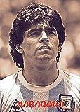 Diego Maradona - Lienzo decorativo para pared para sala de estar, diseño moderno, sin marco, 50 x 76 cm
