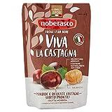 Noberasco Viva la Castagna- Snack Castagne italiane morbide, 100 g, Confezione da 12