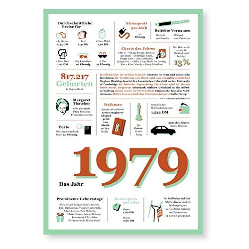 Tolle Geschenkidee: Jahreschronik 1979