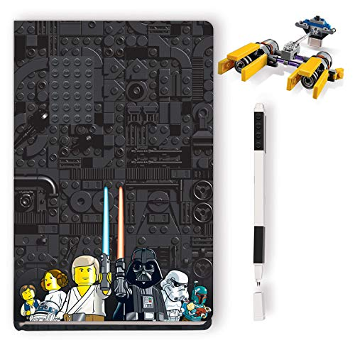IQ Lego Star Wars Pod Racer Creativity Set with FSC Certified Journal, Lego Pod Racer Building Toy, and Black Lego Gel Pen