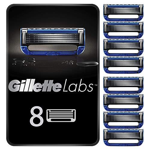 Gillette Labs Heated Razor Rasierklingen für beheizbaren Rasierer, 8 Ersatzklingen
