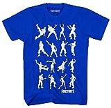 Epic Games Camiseta Fortnite Boys' Dance Dance Emote Blue Video...