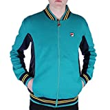 FILA VINTAGE Settanta Baseball Track Jacket | Biscay Bay/Peacoat Medium