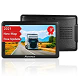 GPS Navigation for Car Truck 9 inch 2021 Map Voice GPS Navigation with Speedometer Speeding Camera Warning, Lifetime Map Update