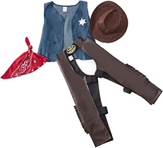 Cowboy Costume Set,Role Play for Boys