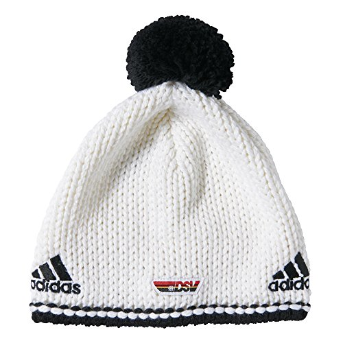 adidas Performance Bonnet à Pompon - - Blanc/Noir,