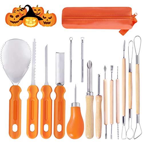 Ginbel Direct Halloween Pumpkin Carving Tool Kit