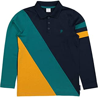 Baby Pyret Color Block Rugby Shirt Polarn O