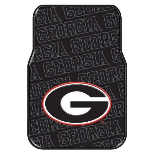 The Northwest Company Officially Licensed NCAA Georgia Bulldogs Auto Front Floor Mat, 2-Pack