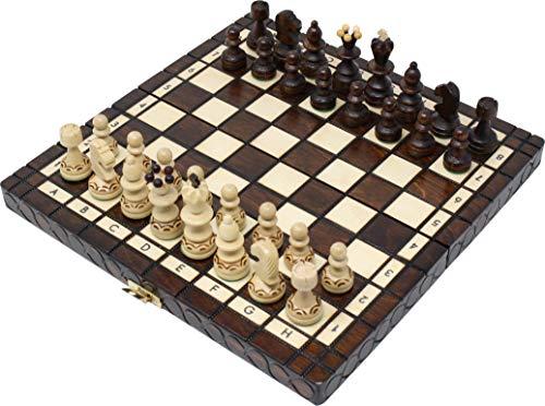 チェスジャパン 木製チェスセット パール 30cm