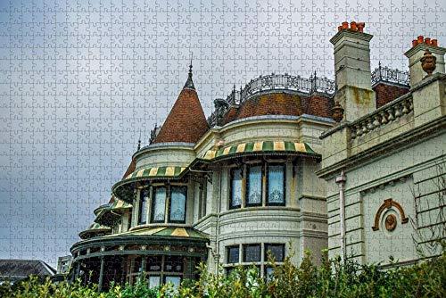 Reino Unido Inglaterra Bournemouth Russell-Cotes Art Gallery Jigsaw Puzzle para Adultos 1000 Piezas de Madera Viaje Regalo Recuerdo