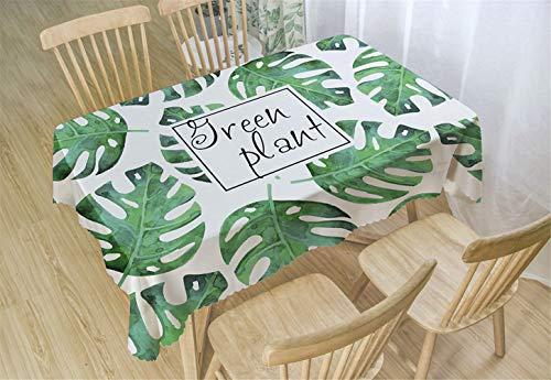 Chickwin Polyester Tafelkleden Rechthoekig, Patroon Rechthoekige Tafelkleed Cover voor Keuken Eetkamer Binnenplaats Café Party of Picknic