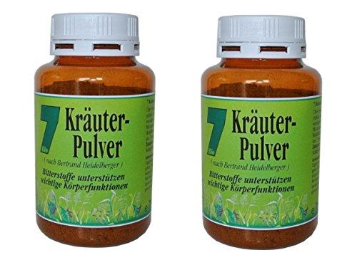 BIO 7 Kräuterpulver, 2 x 75 g = 150 g, nach Mönch B. Heidelberger