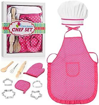 11-Piece Tesoky Kids Cooking Set
