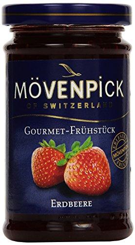 Mövenpick Gourmet-Frühstück Erdbeere, Fruchtaufstrich, 8er Pack (8 x 250 g)