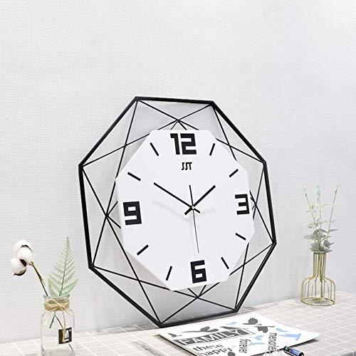 Kyman Reloj de pulsera de metal nórdico, diseño de personalidad simple y de moda, tamaño 60 cm, 60 cm, 7 cm (color: negro) (color: blanco)