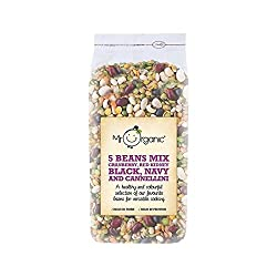 Mr Organic 5 Beans Mix 500g - (Pack of 6) Mr Organic 500g (x6) Quantity: 6