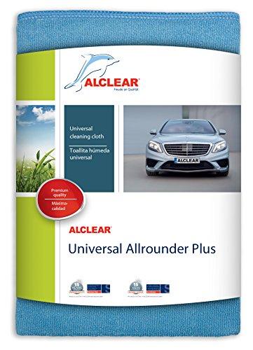 ALCLEAR 89915 Universal Allrounder Plus Chiffon en Microfibre 40 x 40 cm Bleu