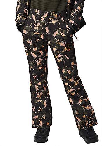 O'Neill Damen Pw Glamour Pants-9910 Black AOP W/White-S Skihose, S