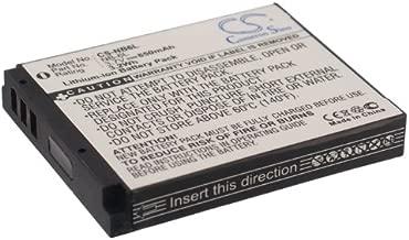 Cameron Sino Replacement Battery for Canon Digital IXUS 200 is, Digital IXUS 210, Digital IXUS 95 is, IXUS 105, IXUS 105 is, IXUS 210, IXUS 300 HS (850mAh)