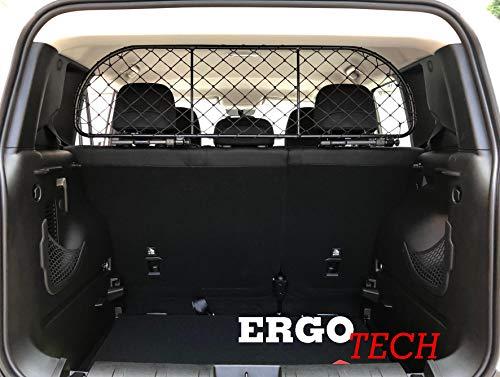 ERGOTECH Trennnetz Trenngitter Hundenetz Hundegitter für Jeep Renegade ab BJ 2014