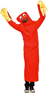 Adult Wild Waving Tube Guy Costume (Red)