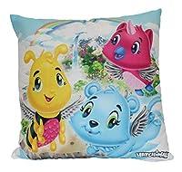 Cuscino imbottito per bambini Con motivi animali di hatchimal Dimensioni: 40 x 40 cm