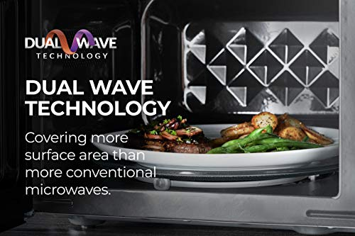 51mtOVvK+HL - Tower KOR9GQRT Digital Microwave with 5 Pre-set Autocook Functions, Defrost Function, 900 W, 26 Litre Black
