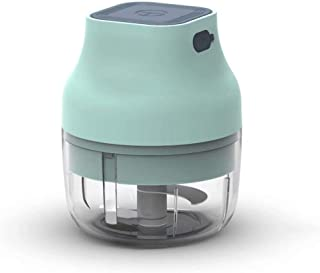 Kitchen Wireless Chopper Meat Grinder Food Cutter Mini Electric Vegetable Garlic Crusher Mixer USB Rechargeable Mixer Grin...