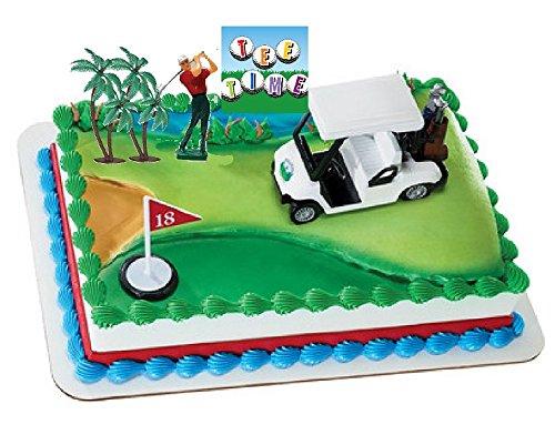 Deluxe Golf Cart Cake Decorating Kit