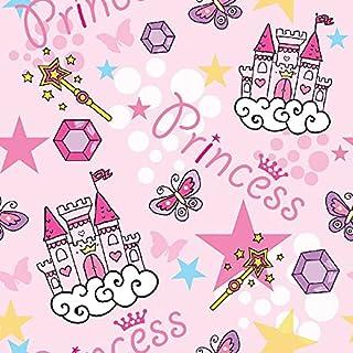 Homemania Tapijt bedrukt Pink Princess voor kinderen, huisdecoratie, antislip, voor woonkamer, slaapkamer, meerkleurig van...
