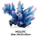 Gulunmun Oggetti D'Arredo per Acquario Acquario Artificiale Coral Ornament Resin Plant Roc...