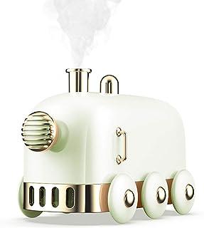 Mini Train USB Humidifier, Desktop Mute Mini Personal Portable Small Humidifier, Ultra Quiet LED Night Light Function USB ...