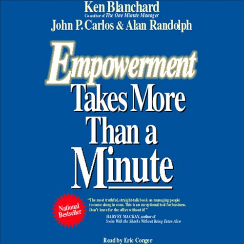 Empowerment Takes More than a Minute audiobook cover art