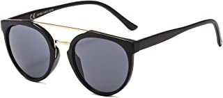 SUERTREE Fashion Sunglasses UV400 Double Bridge Shades...