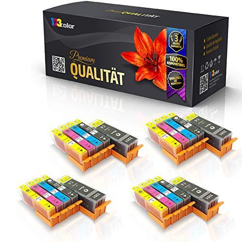 20 x alternatieve XXL inktpatronen voor Epson Expression C13T33374010 C13T33574010 T333740 T335740 T3351 T3364 T 3351 T 3364 zwart cyaan magenta geel inkt Pro serie