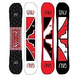 Gnu Forest Bailey Space Case Asym Snowboard Mens Sz 147cm
