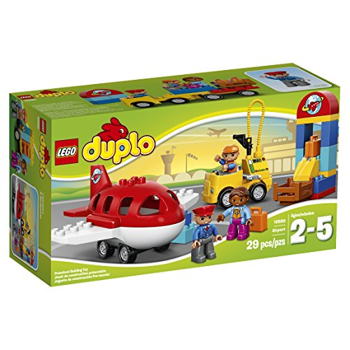 LEGO DUPLO 10590 Airport Educational Preschool Toy Building Blocks For Your Toddler