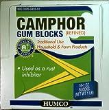 CAMPHOR BLOCKS CTN/16 1OZ HUMCO HOLDING GROUP INC.