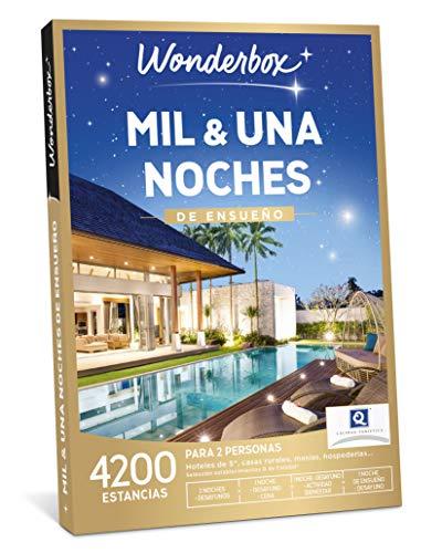 WONDERBOX Caja Regalo - MIL & UNA Noches DE ENSUEÑO - una Estancia con Diferentes Opciones a Elegir Entre 4.200 estancias de ensueño para Dos Personas.
